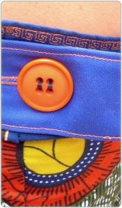 CoCo division, Madeixa maduixa, vestido detalle espalda