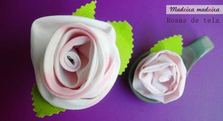 CoCo division, Madeixa maduixa, tutorial rosas de tela