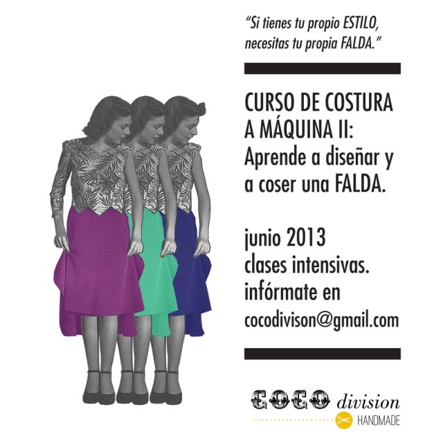 CoCo division, taller costura falda