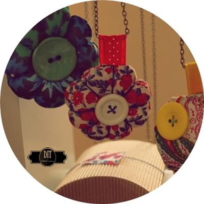 CoCo division, collar de tela, DIY