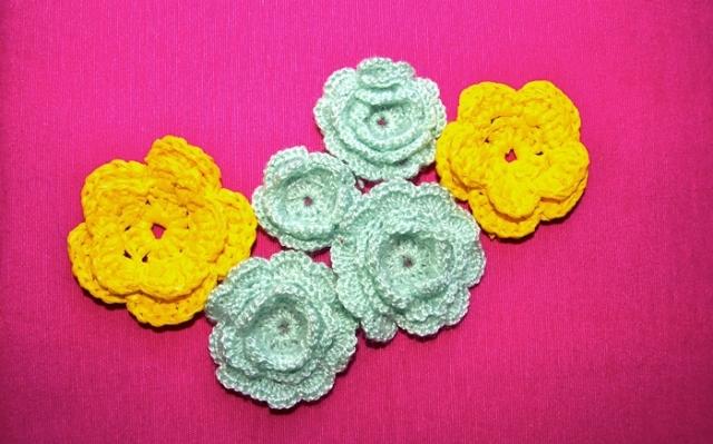 CoCo division, flores ganchillo