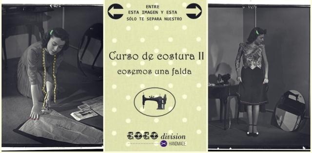 CoCo division, curso costura falda
