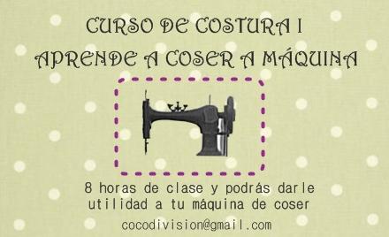 CoCo division, curso costura