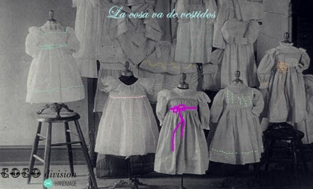 CoCo division, vestidos nena