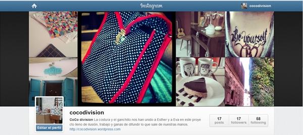 CoCo division, Instagram