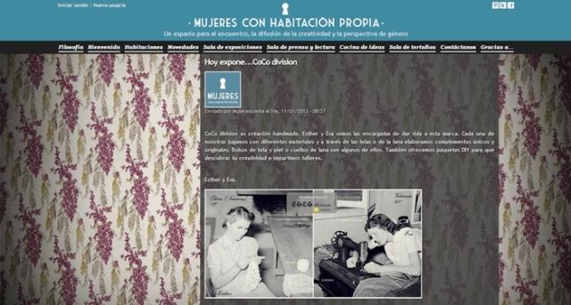 mujeres con habitación propia, CCo division